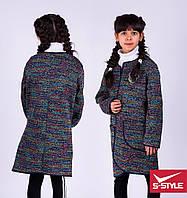 Стильное пальтишко для девочки