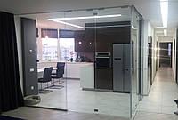 Стеклянная кухня студия, фото 1