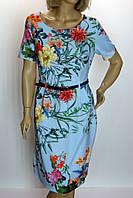 Платье с цветами СМА