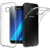 Чехол силиконовый Ультратонкий Epik для Samsung Galaxy A5 2017 Duos SM-A520 прозрачный