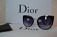 Солнцезащитные очки  Dior, цвет черный