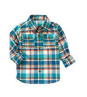 Детская клетчатая рубашка для мальчика Crazy 8