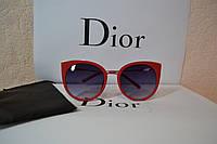 Солнцезащитные очки  Dior, цвет красный