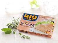 Лосось в оливковом масле  Rio Mare Saalmon  филе лосося 150Г