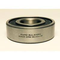 Шариковый радиальный подшипник однорядный 6203 2RS (RB)