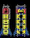 Вышка - тура 1,6х0,8 (4+1), фото 6