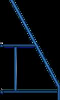 Костыль опорный (клино хомутовые строительные леса)