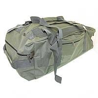 Сумка рюкзак армейская 70 литров хаки