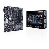 Материнcкая плата ASUS PRIME_B350M-A sAM4 B350 4xD DR4 DVI-VGA-HDMI M.2 Socket3 ATX, PRIME_B350M-A