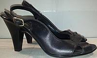 Босоножки женские натуральная кожа р37 FELICEA 82 черные TONI