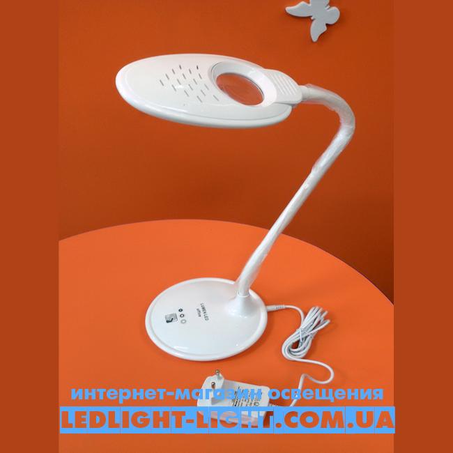 """Світлодіодна настільна лампа """"Lumen"""" TL1208А 5W, на постачання, колір - білий."""