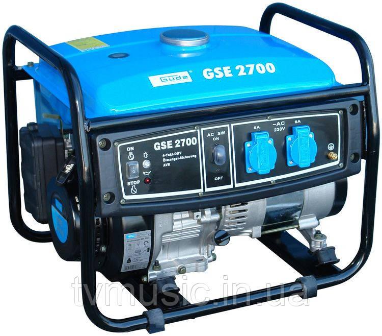 Генератор бензиновый Güde GSE 2700