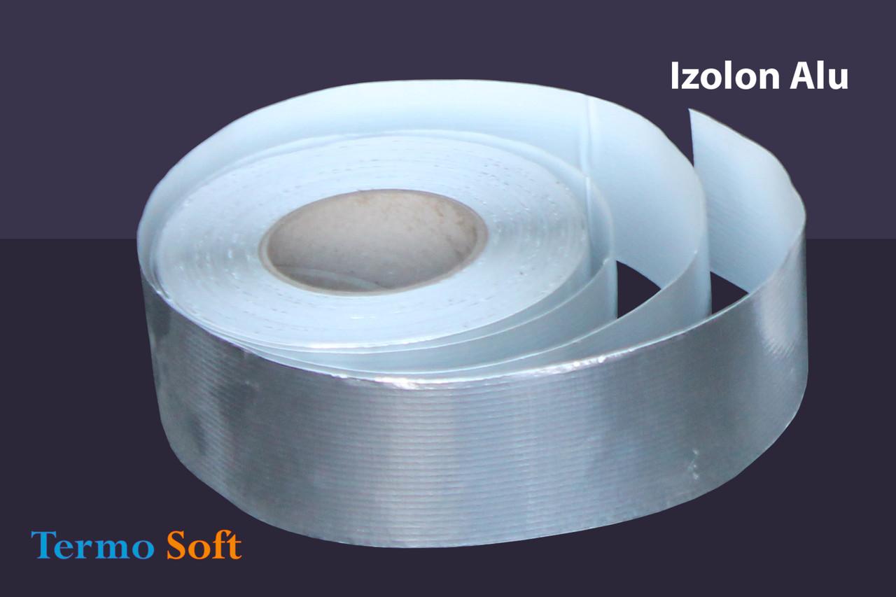 Скотч алюминиевый Izolon Alu 75мм*20м