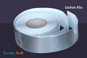 Скотч алюминиевый Izolon Alu 50мм*40м