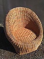 """Плетеное кресло из лозы """"Заплетеное"""""""