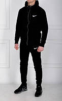 Мужской теплый спортивный костюм Nike! Теплый, зимний вариант!
