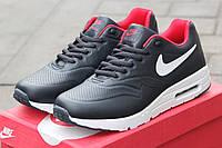 Кроссовки Nike air max 87 темно-синий с белым