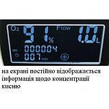 Кислородный концентратор «МЕДИКА» Y007-1 с дополнительной функцией очистки кислорода «ANION» и пультом д.у., фото 5