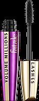 L`Oreal Volume Millions FATALE 8 ml Туш для ресниц (оригинал подлинник  Франция)
