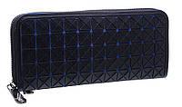 Стильный женский кошелек A867 black/blue