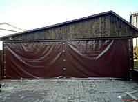 Шторы из ПВХ для гаражей