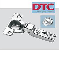 Петля DTC slide-on. Полунакладная без пружинная (Tip-On).
