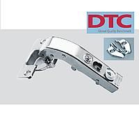 Петля DTC clip-on. Прямая без регулировки (для фальшпанели).