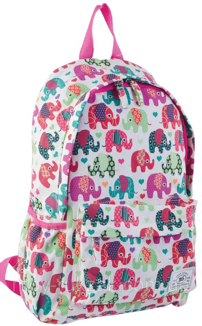 """Рюкзак молодежный Elephant """"YES"""" ST-15, 553821"""