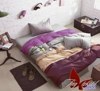 Евро комплект постельного белья Color Mix поплин