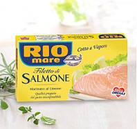 Лосось Rio Mare Salmone(филе маринованного лосося с лимоном)150г