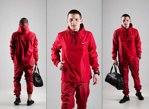 Анорак Nike (красный), куртка, ветровка, фото 2