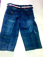 Шорты джинсовые детские и подростковые опт Турция