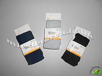Однотонные детские колготки оптом, Турция ТМ BROSS р.7-9 (122-128 см) черный, синий, серый