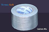 Скотч алюминиевый армированный Izolon Alu 50мм*40м