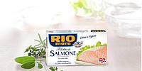 Лосось Rio Filetto di Salmone al Naturale(натуральном соке)150г