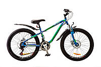 """Шара! Подростковый горный дисковый велосипед 24"""" Discovery FLINT AM DD"""