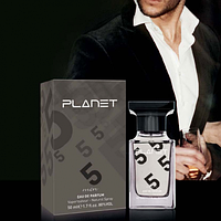 Мужская парфюмированная вода Planet Grey, 50 мл, код 3541015