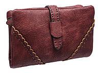 Модный женский кошелек TZ1453-2 bordeaux