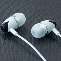 Наушники MUSUN E03 (Белый) вакуумные c микрофоном для samsung lenovo xiaomi