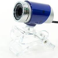 Веб камера CARPO M10 компьютерная для скайпа usb Синий