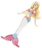 Кукла Барби Яркие огоньки Русалка Блондинка  Barbie Sparkle Lights Mermaid