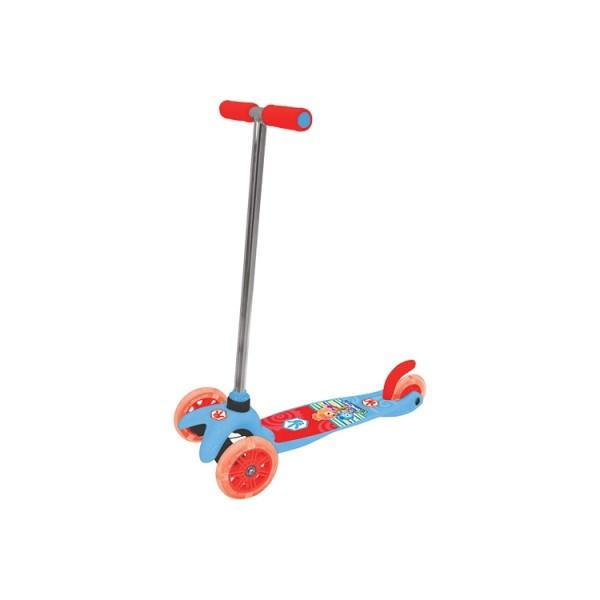 Скутер лицензионный - Фиксики (3-х колесный, тормоз) Т58463