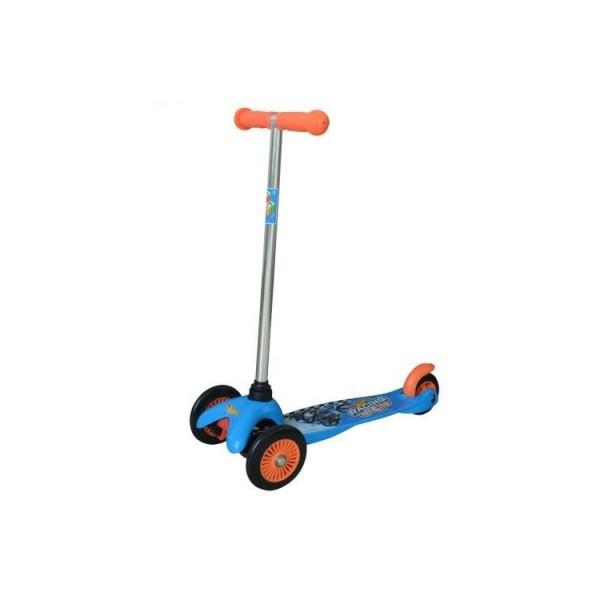Скутер лицензионный - HOT WHEELS (3-х колесный, тормоз) Т57616