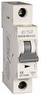 Модульный автоматический выключатель EMCB.601C6, 6кА, 1п, х-ка С, 6А