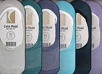 Подследники женские х/б с сеткой Calze Moda, ароматизированные, цветное ассорти, 36-40 размер, 394