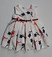 Платье на девочку  1,2,3 года