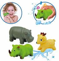 Животные-пищалки для ванной Африка (3 шт.), BeBeLino (58003)