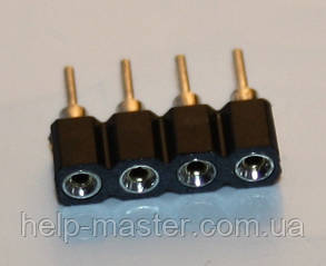 Конектор з'єднання RGB стрічки 4pin