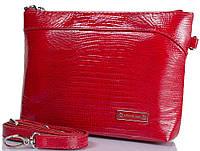 Яркая женская кожаная сумка-клатч KARYA (КАРИЯ) SHI0662-074-1LZ