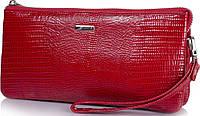 Яркая женская кожаная сумка-клатч KARYA (КАРИЯ) SHI0715-074-1LZ